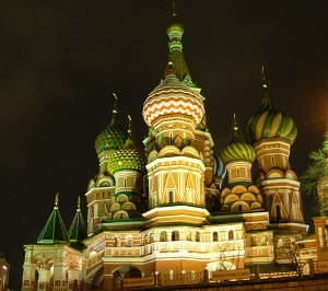 Picture of St Basil's, Moscow